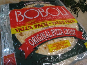 Boboli pizza base