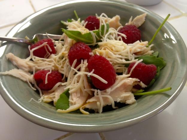 Spicy fruity salad