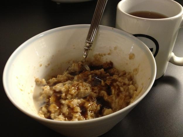 Old fashioned porridge